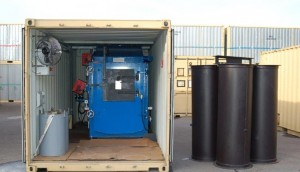 20ft Containerised Medical Grade Incinerators